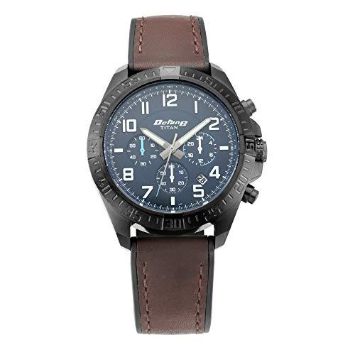 Titan Octane Hyper Lume Analog Blue Dial Men's Watch 90112NP02/NN90112NP02
