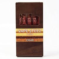 VAPE STEEZ E CIGAR 使い捨て 電子葉巻 吸引回数500回 5本セット (S Star/タバコ)