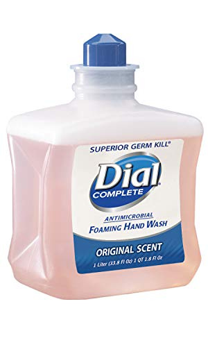 Dial Professional DIA 00162 Dial Complete Antimicrobial Foaming Hand Soap Refill 6/1000 ml