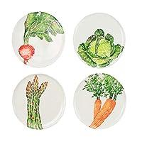 Spring Vegetables サラダプレート詰め合わせ - 4枚セット