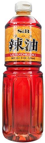 S&B Layu Sesame Chili Oil, 33.1 FZ
