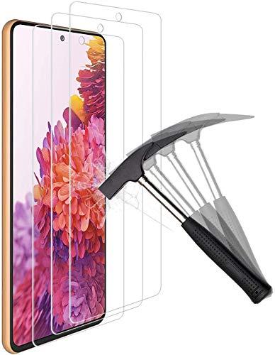 ANEWSIR 3X Vetro Temperato per Samsung Galaxy S20 Lite Vetro temperato, Facile da Pulire Installazione, Pellicola per Samsung S20 Lite
