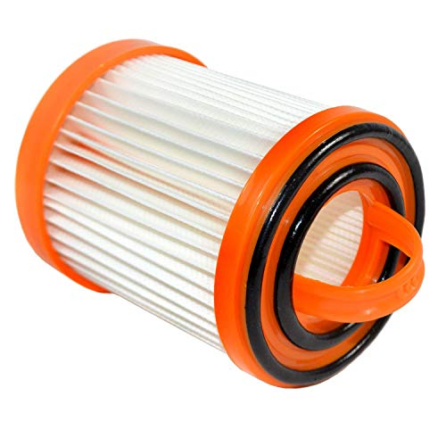 HQRP Dust Cup Filter compatible with Eureka 5700 5740A 5810A 5811A 5812A 5813AV 5815AV 5840 5841 5856 5857 5860 Litespeed Whirlwind Vacuum Cleaners, DCF-3 DCF3 62136A Replacement plus HQRP Coaster