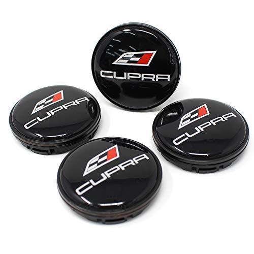 Juego de 4 x Buje Tapa 56 mm tapacubos para llantas ABS Plástico Accesorios universales para el coche