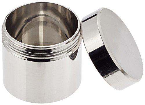 neolab 32127Edelstahl-Kanister mit Schraubverschluss, 20ml, 36mm x 38mm Durchmesser