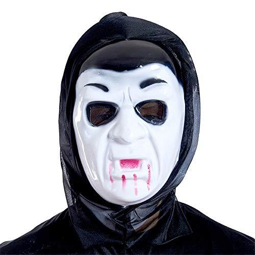 WFCQNB Halloween Cosplay apoyos de Horror Solo Diablo Gritando mueca mueca Muerte por Adultos Fiesta decoración Accesorios (Color : Style6)