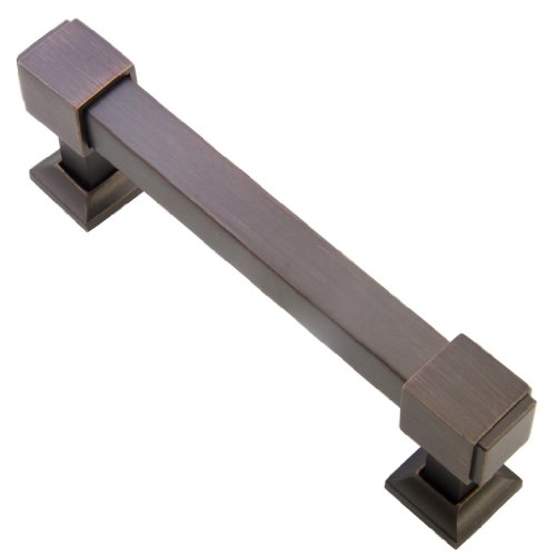 Southern Hills Oil Rubbed Bronze Drawer Pulls - 4 Inch Screw Spacing -...