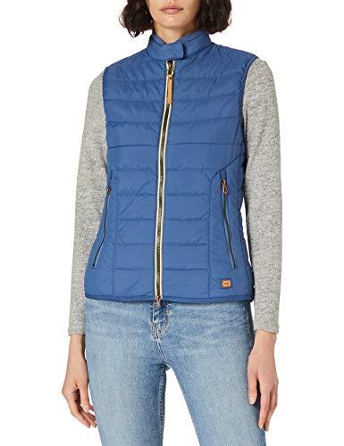 Camel Active Womenswear Damen 3608105R48 Weste, Blue, 40