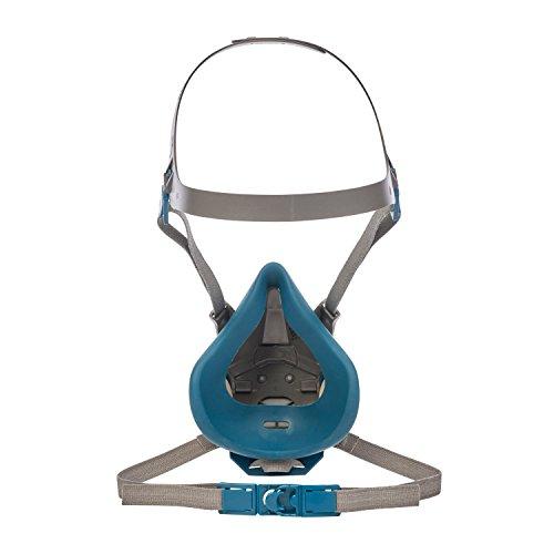 3M Atemschutz-Halbmaske 6502QL – Atemmaske mit Cool-Flow Ausatemventil & Quick-Release Mechanismus – Mehrwegmaske mit großer Filterauswahl für unterschiedlichste Einsatzzwecke - 3