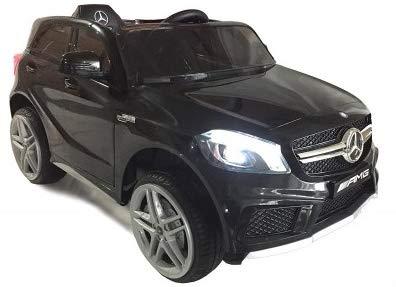 KIDDI QUAD Mercedes A45 AMG Turbo Negro Cosmos Metalizado Mando Parental 2.4Ghz, Coche Eléctrico Infantil 12V 7Ah