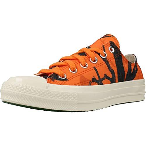 Converse Calzado Deportivo Chuck 70 OX para Hombre Naranja 46.5 EU