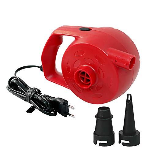 Kshzmoto Bomba de Aire eléctrica para inflables Potente Bomba infladora de 300...