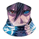 Women Men Dust Protect Naruto Sasuke Sharingan Rinnegan Eyes Lightning Face Mask Sun Bandanas Comfortable Balaclava Headband for Sports,Outdoor,Cycling Motorcycle,Rave