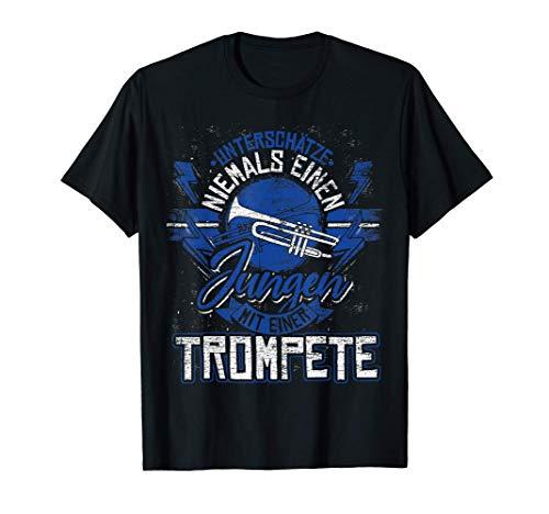 Trompetenspieler Geschenk Trompete Kind Jazz Musik Trompeter T-Shirt