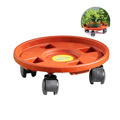 ppactvo Plant Pot Trays for Balcony Plant Pot Saucer Large Outdoor Accessory Indoor Accessory Various Sizes Plant Accessories 15.35inch
