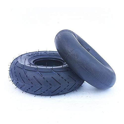 SUIBIAN Elektro-Scooter Reifen, 10 Zoll-Anti-Rutsch-Verschleißfeste Reifen, verdickte Butyl Rubber Innen Reifen 10x2.50/3.00-4 Optional, Geeignet für Motorroller und Alter Scooters,3.00/4