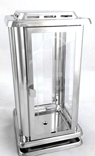 designgrab Grab lámpara Royal de acero inoxidable con grabado Cruz en la puerta lateral