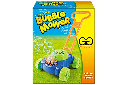 Kids Bubble Blowing Lawn Mower Children Auto Outdoor Garden Toy Battery Operated Playset Activity