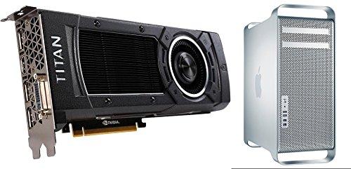 Nvidia Titan X 12GB para Mac Pro 2008–2012(tarjeta gráfica Kit de actualización; 4K y 5K apoyo)