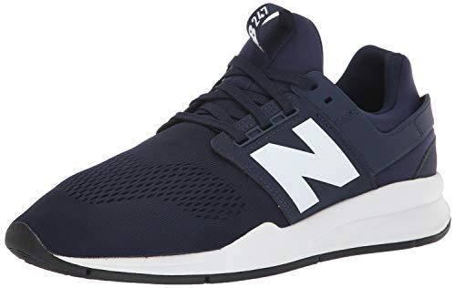 New Balance 247v2, Zapatillas Hombre, Azul (Pigment/White Munsell Melange), 40 EU