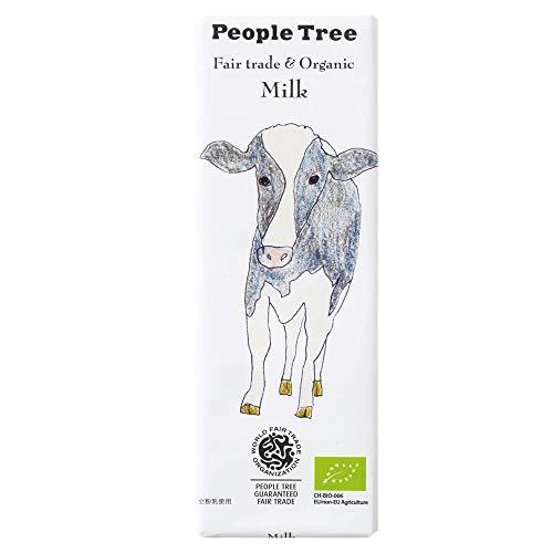 PeopleTreeピープルツリーフェアトレードチョコ板チョコオーガニックミルク
