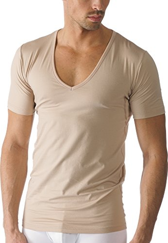 Mey Basics Serie Dry Cotton Herren Shirts 1/2 Arm Nude 5