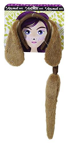 Forum Novelties Women's Playful Animals Dog Costume Accessory Set, One Size