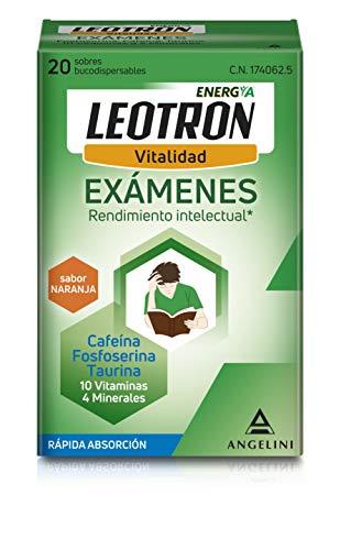 Leotron Exámenes - 20 Sobres bucodispensables