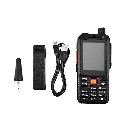 Walkie Talkie con batería incorporada, Dual SIM Radios bidireccionales Resistentes Android 4.4.2 3G Dual SIM, teléfono móvil
