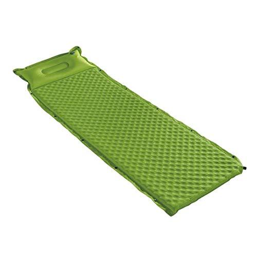 Camping Air Bed Schuim Stitching Van Opblaasbare Compacte Single Camping Mat Slaapzak Pad Waterdicht Lichtgewicht Met Kussen Geweldig Voor Camping Stranden