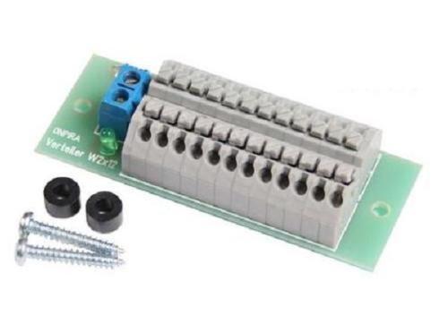 ONPIRA Stromverteiler Verteiler W 2x12 mit Schnellanschlussklemmen mit Montagematerial