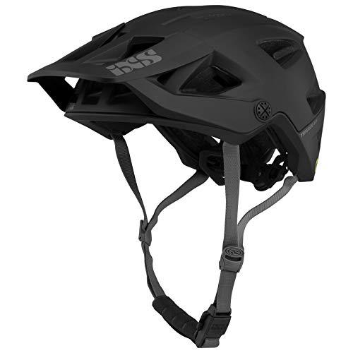 IXS Trigger Am MIPS Casco de Bicicleta de montaña E-Bike para Adulto, Unisex, Negro, Mediano