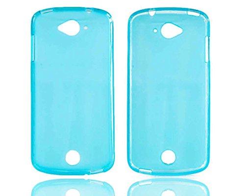 caseroxx TPU-Hülle für Acer Liquid Z530 / Z530S, Handy Hülle Tasche (TPU-Hülle in hellblau)