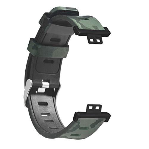 CLFYOU Huawei-Uhr-passende Armband, Huawei-Uhr-passende Band, Huawei-Uhr-passende Silikonband-Uhr-Band kompatibel für Huawei-Uhr-passenden Smart-Uhr-Silikon-Ersatzband