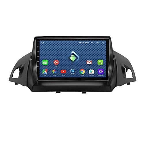 DMMASH Android 8.1 Autoradio-Headunit passend für Ford Kuga 2013-2017 GPS-Auto-Navigation Unterstützung Spiegel-Link/Bluetooth/USB/FM,4 cores,WiFi:4+64G