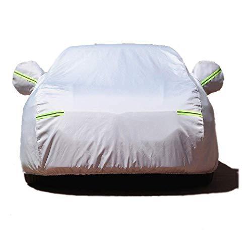 N / A PEVA Nano Silber Car Cover für B-M-W 2-Serie. Wasserdicht, Winddicht, Hagel, UV, Scratch, Regen, Schnee, Staub und in der Nähe The Body - Zwei Thickness Optionen Auto-Abdeckung,Gra.