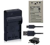 NinoLite 3点セット EN-EL5 互換 バッテリー +USB型 充電器 +海外用交換プラグ ニコン Nikon 対応 dc12enel5_t.k.gai