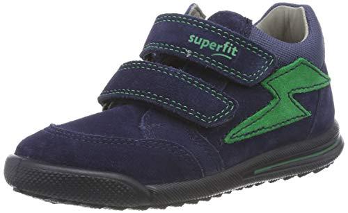 Superfit Baby Jungen Avrile Mini 509373 Sneaker, Blau (Blau 80), 24 EU