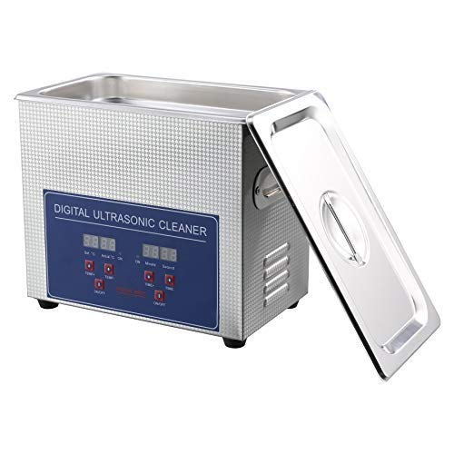 UROK 3L Pulitore Ad Ultrasuoni Display Digitale 100W Ultrasuoni Bagno Ultrasuoni Dispositivo Con Timer Digitale 3L