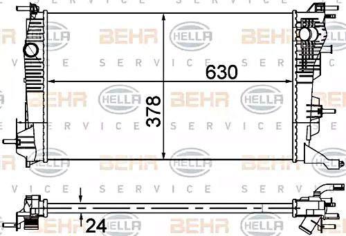 HELLA 8MK 376 735-135 Kühlung