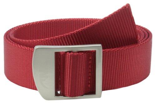 Mountain Khakis Unisex Webbing Belt, Red, One Size 53