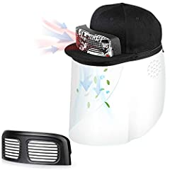❤️✅ A Cap with Dual Fans - For Free Breathe of Cool and Clean Air. Light weight, Rechargeable, and Chic. This is Innokin Filter Fan Cap (FFC). Good to be used in the cafe, restaurants, malls, on a bus, metro or plane, in a gym, in the auditorium for ...
