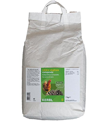 Ferme de Beaumont Litière végétale granulés 7 kg