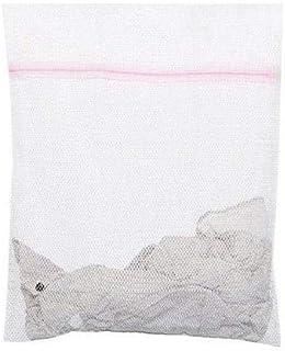Laundry Washing Mesh Net Zipped Wash Bag Lingerie Underwear Bra Clothes Socks
