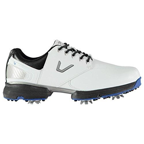 Slazenger Herren V300 Golfschuhe Soft Spikes Weiß 44