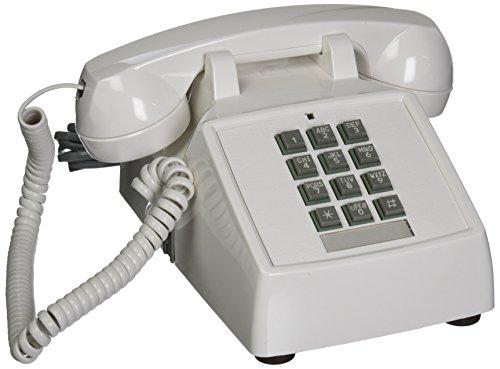 Cortelco ITT-2500-V-WH 1-Handset Teléfono Fij