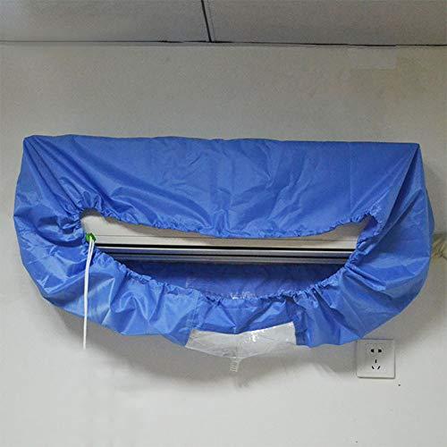MeterMall Home Blue Air Conditioner Cover Reiniging Stofafwashoes Schoon Waterdichte Beschermer