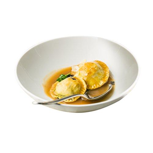 CIGONG Ciotola di Zuppa di Ciotola Poco Profonda di Ceramica Ciotola di Zuppa di Banane Poco Profonda Ciotola di Ciotola di Insalata di Frutta Ciotola
