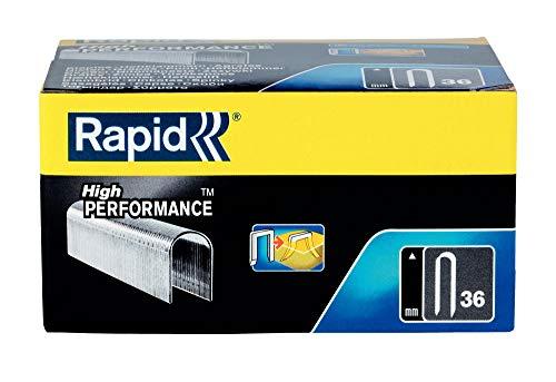 Rapid 11885110 Grapas para cable, Nr.36, 12 mm