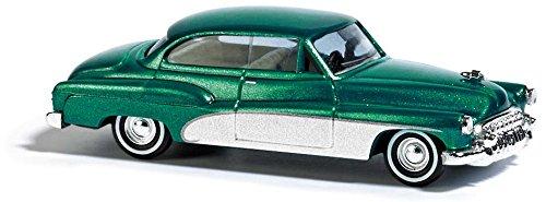 Busch 44723 – Buick '50 Deluxe, véhicule, Vert métallisé